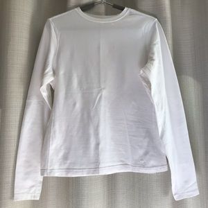 White Athletic Works long sleeve top